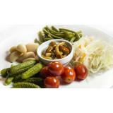 Соления и овощная консервация